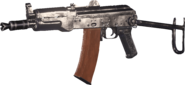 AK-74u Nickel Plated MWR