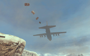 C-130 delivering Emergency Airdrop MW2