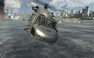 U.S. Navy SEALs piloting the UH-60 Over Reactor MW3