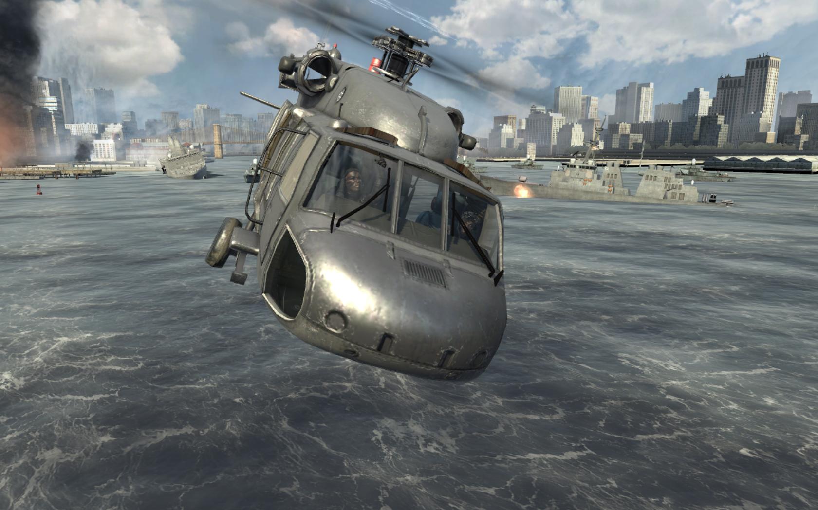 Image - U.S. Navy SEALs piloting the UH-60 Over Reactor ...