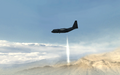 AC-130 firing 105 mm Dome MW3.png