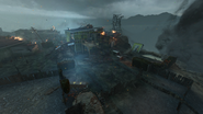 Nuketown Zombies yellow yard BO2