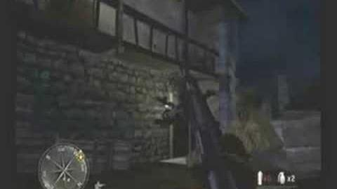Call of Duty 3 - Mission 3 -- Night Drop (Part 1 of 3)
