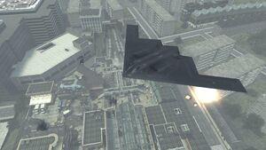 Stealth Bomber Underground 1 MW3