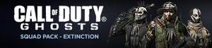 Extinction Squad Pack DLC banner CoDG
