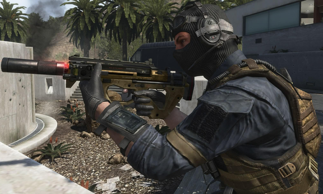File:PDW-57 Suppressor Laser Sight third person BOII.png