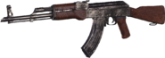 AK-47 Nickel Plated MWR