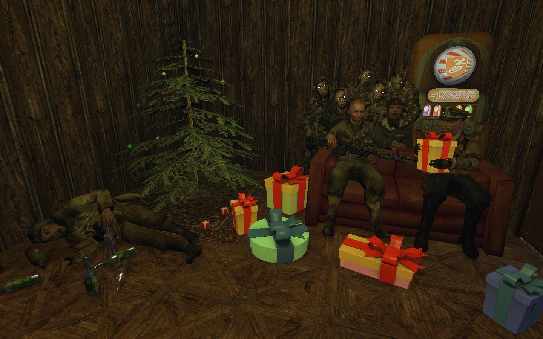 Zombies Christmas 1