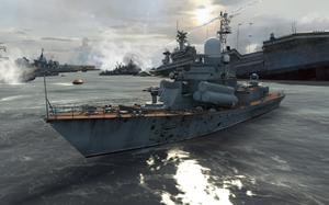 Nanuchka-class corvette Hunter Killer MW3