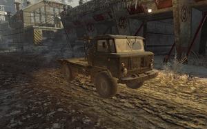 Gaz-66 with Dshk WMD BO
