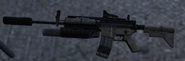 M4A1 SOPMOD 3rd person MW2