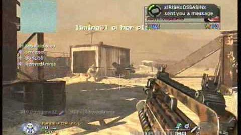 MW2 10th lobby prank FUNNY IDIOT KIDS!!