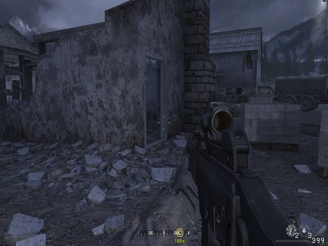 File:Passing through building ruins Hunted CoD4.jpg