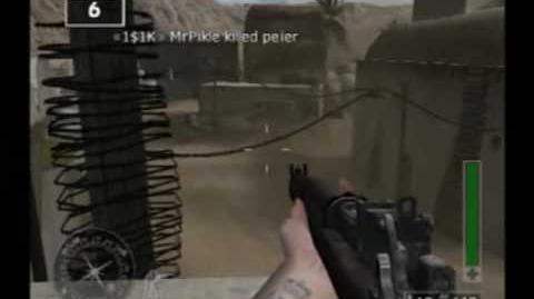 Call of Duty Finest Hour (PS2) Online Gameplay (Oasis)