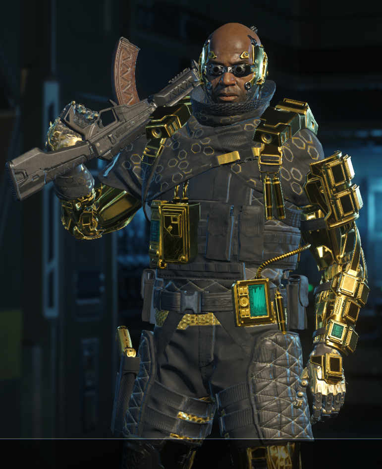how to get gold ruin armor bo3