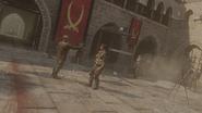 Zakhaev giving Deagle to Al-Asad MWR