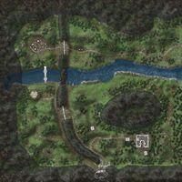 Cruachan Gorge map