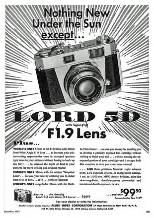 Lord 5D Ad