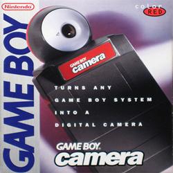 Game Boy Camera box art