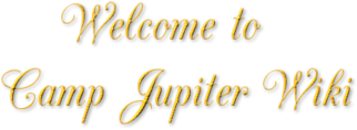 Welcome to camp Jupiter