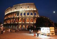 Rome snacks colosseum