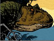 Allosaurus Calvin the Awful Allosaur