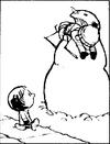 Snowman- Man Eating Snowman