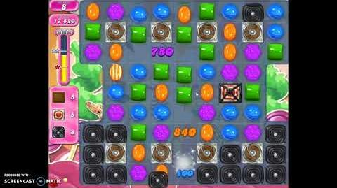 video candy crush saga level 2744 no boosters | candy