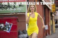 Bubblegum trool comes
