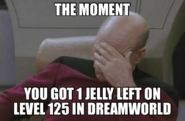 NO NOT THE MISSING JELLY