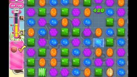 Candy Crush Saga Level 119 - 3 Star - no boosters
