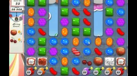 Candy Crush Saga Level 180 - 2 Star - no boosters