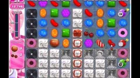Candy Crush Saga Level 495 3 stars NO BOOSTERS