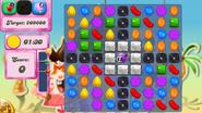 Level 121 mobile new colour scheme (before candies settle)