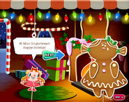 Hi Miss Gingerbread! Happy Holiday!