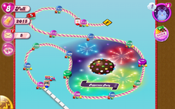 Peppermint Party Map Mobile