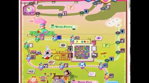 Candy Crush Saga level 14 coconut unlock