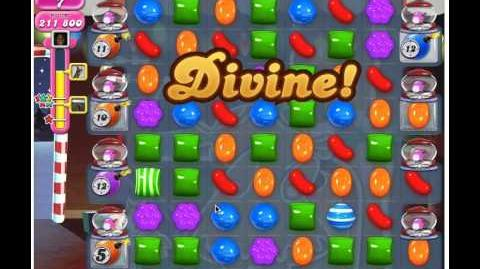 Candy Crush Saga Level 265 - 3 Stars No Boosters