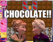 Elsa chocoalte meme