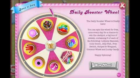 Daily Booster Wheel Lollipop hammer