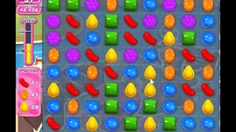 Candy Crush Saga Level 140 - 3 Star - no boosters