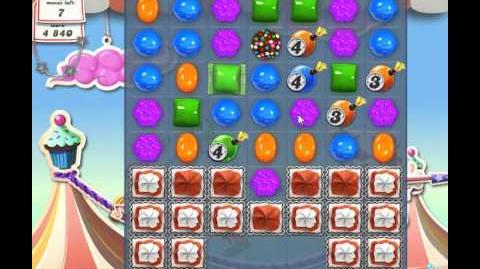 Candy Crush Saga Level 172 - 2 Star - no boosters
