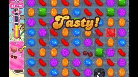 Candy Crush Saga Level 112 - 3 Star - no boosters
