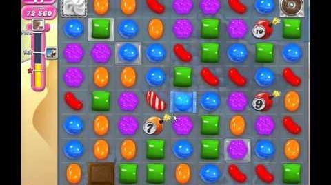 Candy Crush Saga Level 168 Walkthrough