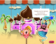 Thank you for saving my precious Peppermint Palace!