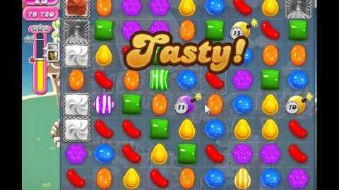 Candy Crush Saga Level 144 - 3 Star - no boosters