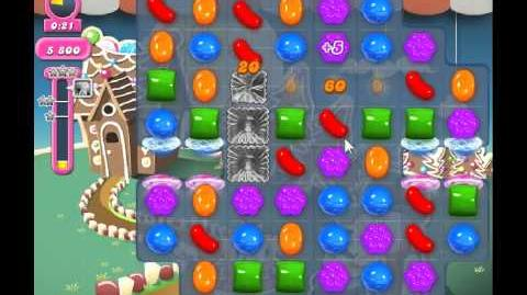 Candy Crush Saga Level 151 - 1 Star - no boosters