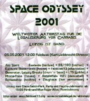 Leipzig 2001 May 5 MMM Space Odyssey Germany