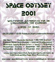 Leipzig 2001 May 5 MMM Space Odyssey Germany
