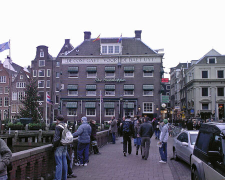 Amsterdam. The Grasshopper. By day. 31 December 2006